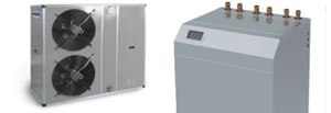 Innovative heat pumps units