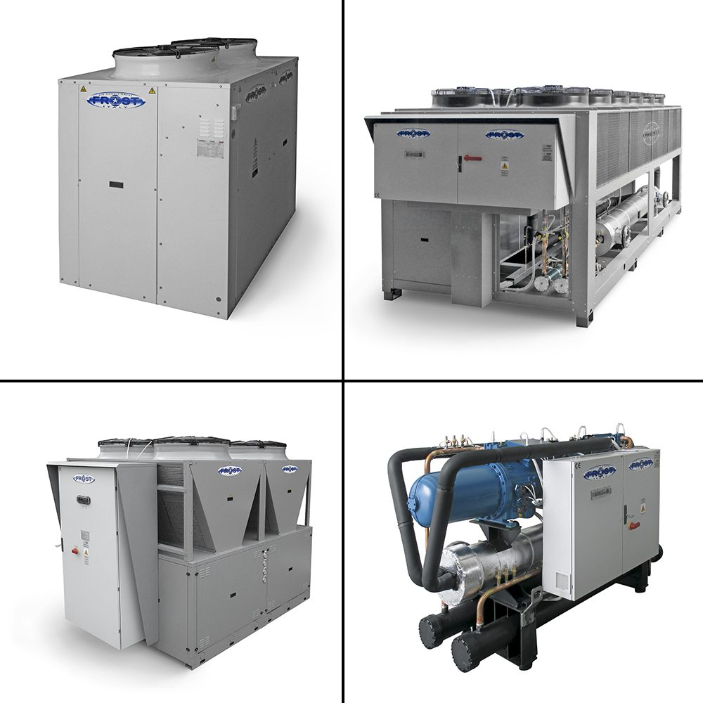 Packaged liquid chillers