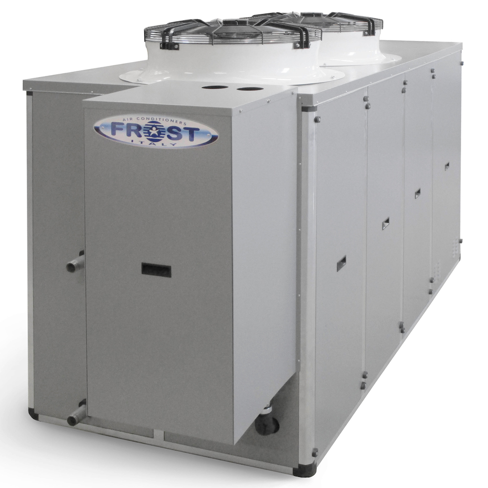 air to water chiller with boiler