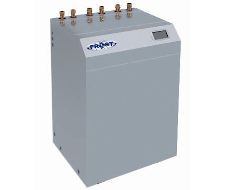 High efficiency water to water heat pump unit